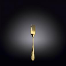 Dessert Fork Set 2 pcs (Golden Colour) <br>on Blister Pack <br>WL-999248/2B, fig. 1