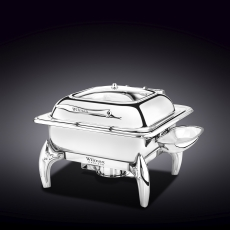 Glass Lid Square Chafing Dish with Stand WL‑559912/AB, fig. 1