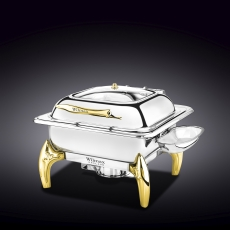 Glass Lid Square Chafing Dish with Stand WL‑559922/AB, fig. 1