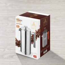 Double Wall French Press in Colour Box WL‑551005/1C, fig. 2