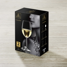 Wine Glass Set of 2 in Colour Box WL‑888001/2C, fig. 2