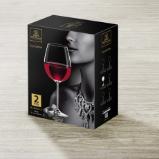 Wine Glass Set of 2 in Colour Box WL‑888002/2C, fig. 2