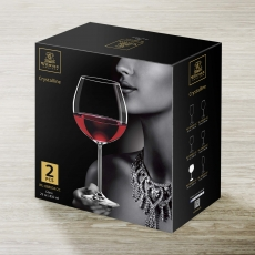 Wine Glass Set of 2 in Colour Box WL‑888004/2C, fig. 2