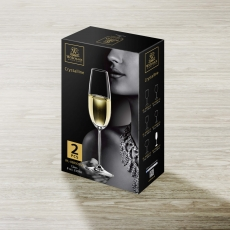 Champagne Flute Set of 2 in Colour Box WL‑888005/2C, fig. 2