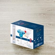 Margarita Glass Set of 2 in Colour Box WL‑888107/2С, fig. 2