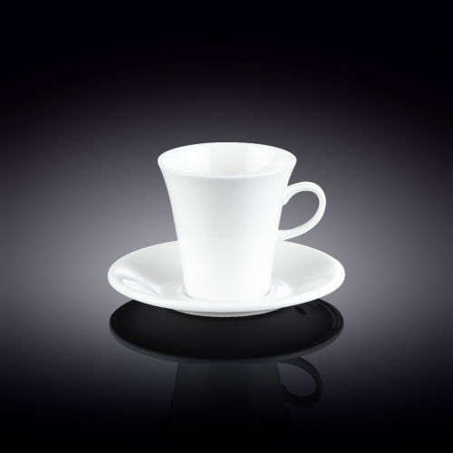 Coffee Cup & Saucer Set of 2 in Colour Box WL‑993005/2C, fig. 1