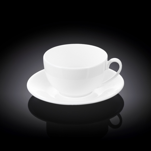 Tea Cup & Saucer Set of 4 in Colour Box WL‑993000/4C, fig. 1