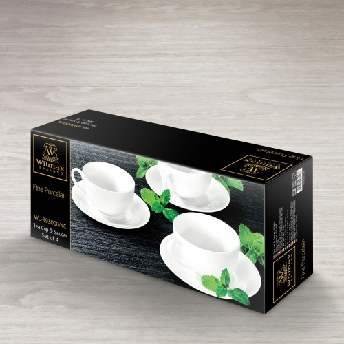 Tea Cup & Saucer Set of 4 in Colour Box WL‑993000/4C, fig. 2