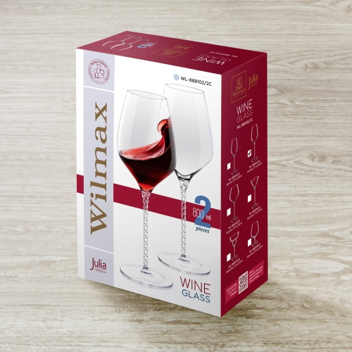 Wine Glass Set of 2 in Colour Box WL‑888102/2С, fig. 4