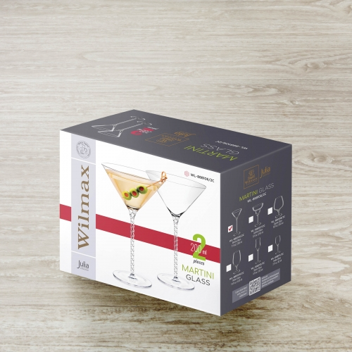 Martini Glass Set of 2 in Colour Box WL‑888106/2С, fig. 4