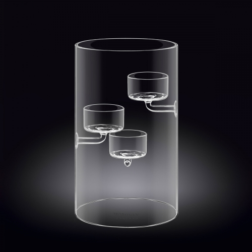 Candle Holder for 3 Tealights WL-888906/A, fig. 1